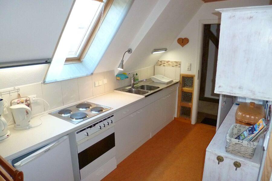 Küche ist Eingangsbereich