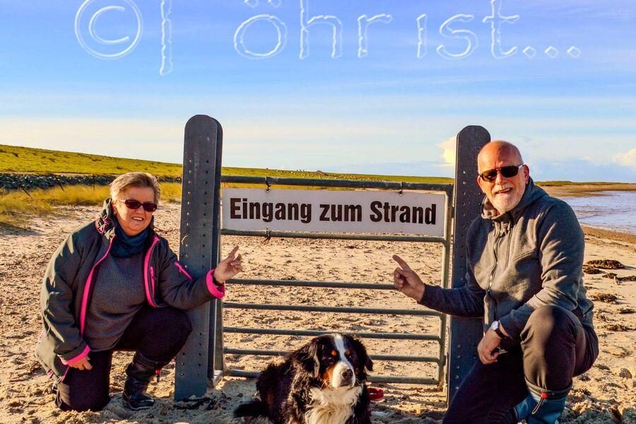 """Urlaub fängt mit """"Föhr"""" an ;-)"""