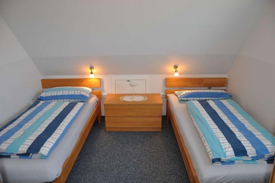 Das Schlafzimmer für zwei Personen