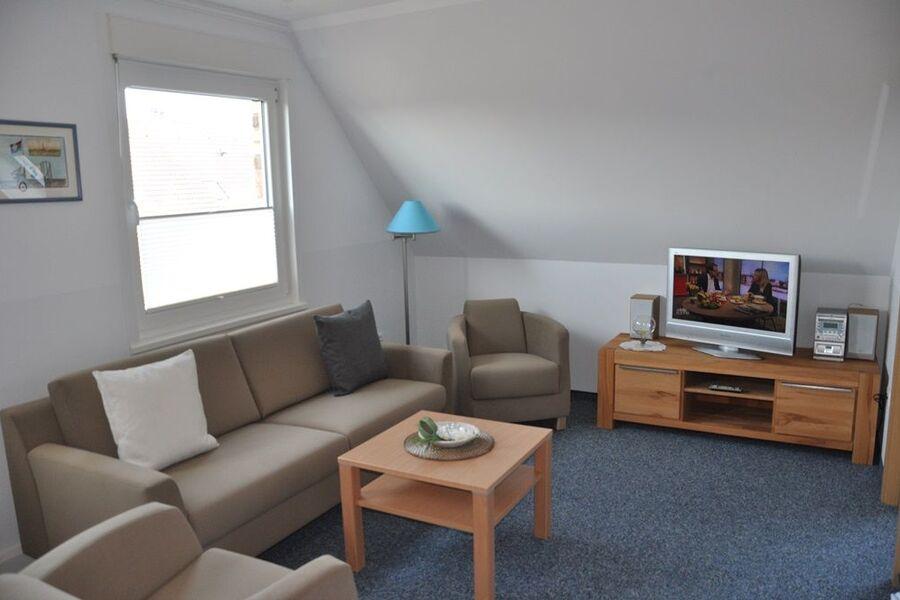 Das zweite Schlafzimmer unter dem Dach