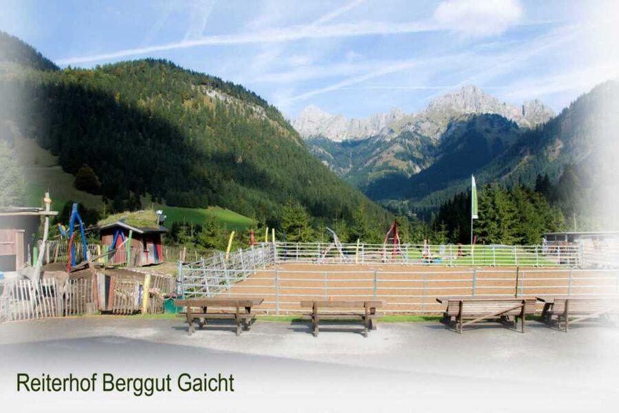 Berggut Gaicht, Ferienwohnung grün 2-8 Pers