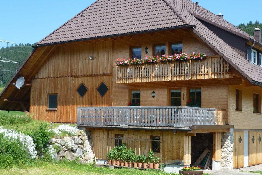 Balkon der Ferienwohnung im 2. OG