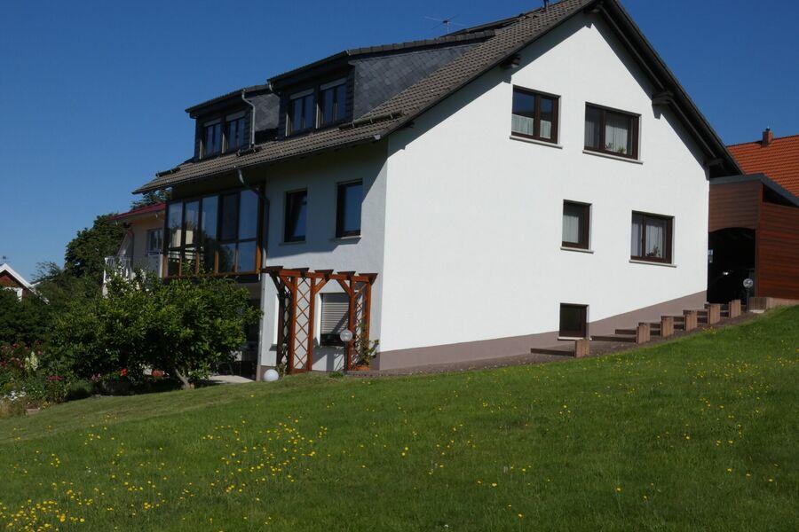 Unser Haus (Süd - Ost Ansicht)
