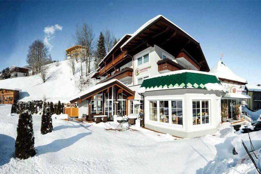 Winter im Rosentalerhof Hotel und Appartements Saa