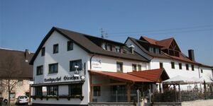 Hotel Werneths Landgasthof Hirschen, Vierbettzimmer Kat. A, Nichtraucher, mit WC und Dusche in Rheinhausen - kleines Detailbild
