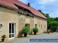 'Weichaer Hof' FBS Sonja Fritsch & Hagen Schmidt GbR, Ferienwohnung 1 - 55 qm (2-4 Personen), Balkon in Weißenberg - kleines Detailbild