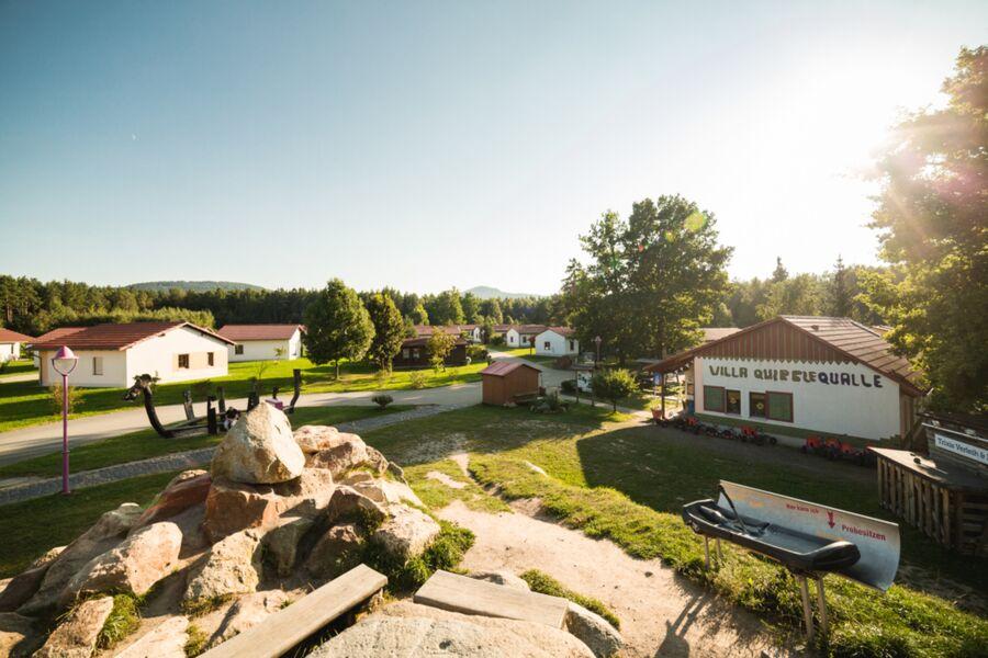 Überblick Trixi Ferienpark Zittauer Gebirge