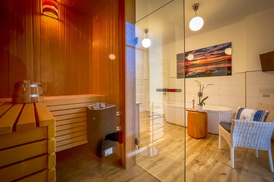 Die Sauna im Bad I