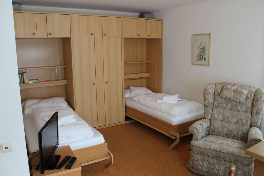 Zweibettzimmer für Rollstuhlfahrer