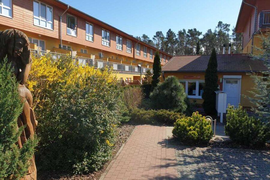 Rezeption der Ferienanlage Ostseepark