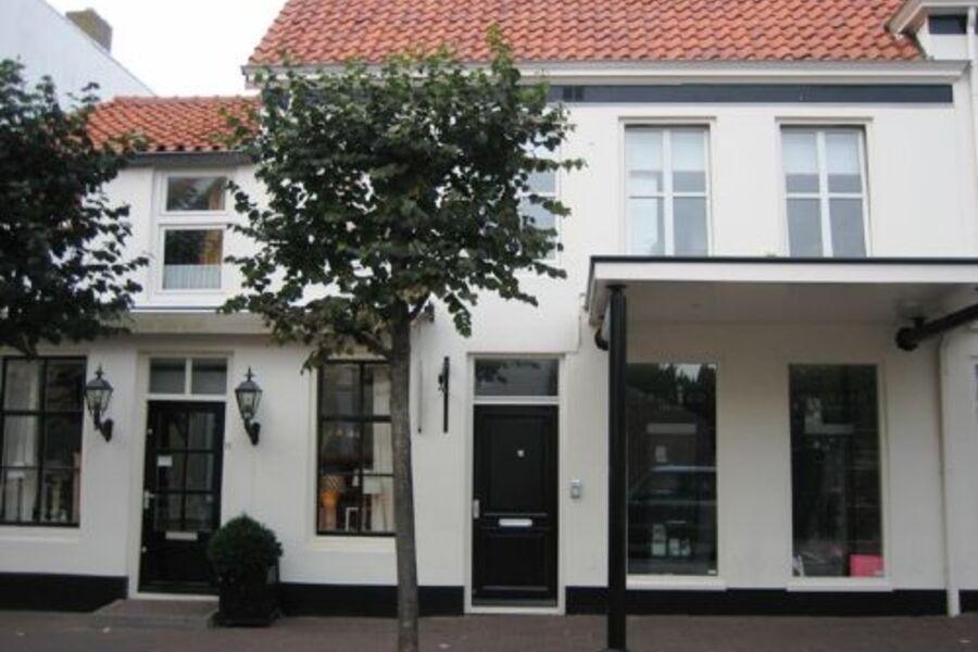 Hausvorderfront Weststraat 8, Domburg