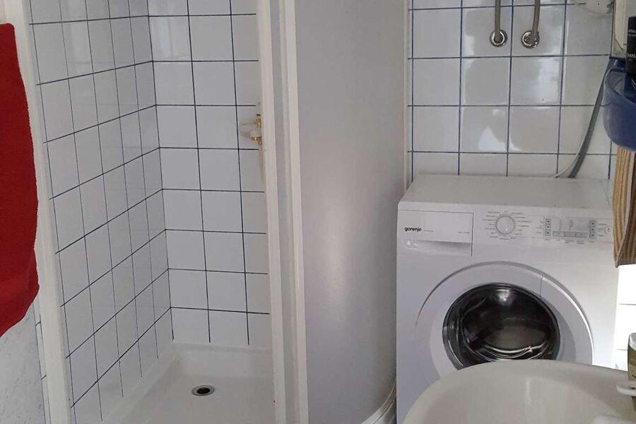 Dusche + Waschmaschine