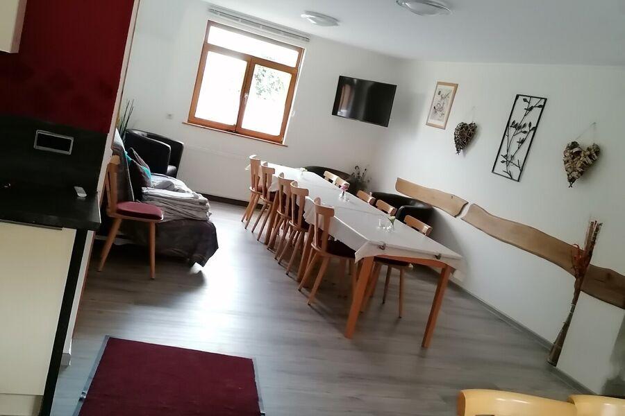 Aussenansicht Ferienhaus Schwalbenfelsen