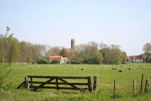 Ferienhaus 'De Kemphaan Texel' - Umgebungsbild
