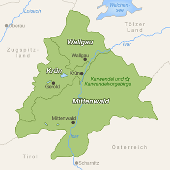 Alpenwelt Karwendel-Karte