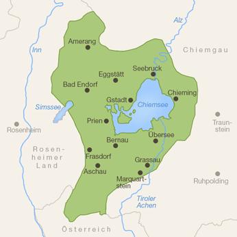 Chiemsee-Karte