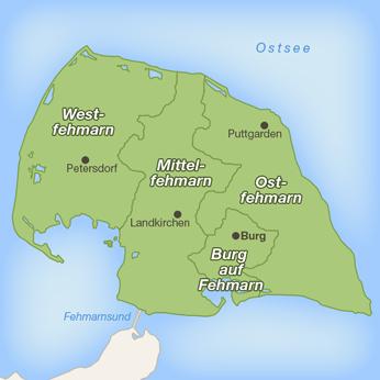 Fehmarn-Karte