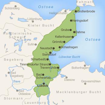 Lübecker Bucht-Karte