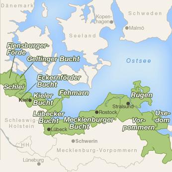 Ostsee-Karte
