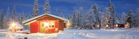 Ferienhaus in Nordschweden