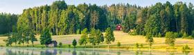 Ferienhaus am Waldrand in Schweden