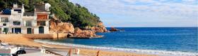 Strandhaus am Meer in Spanien