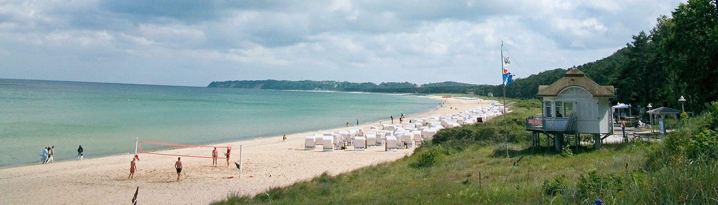 baabe ruegen ostsee strand