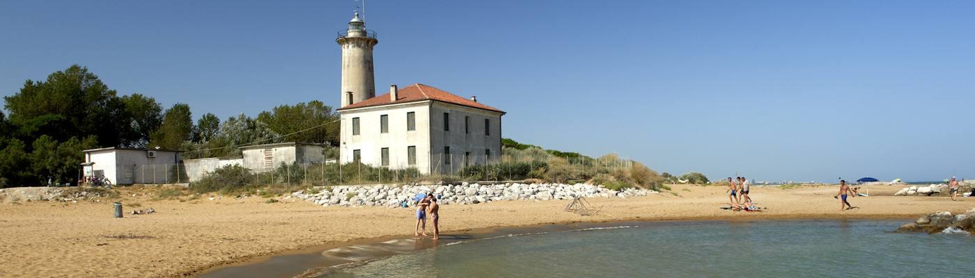 bibione strand leuchtturm