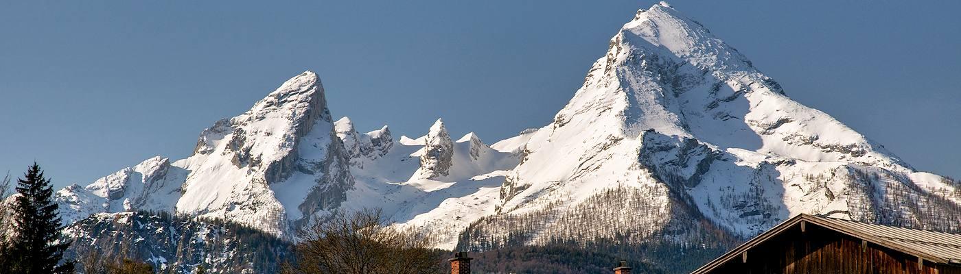 bischofswiesen berge alpen