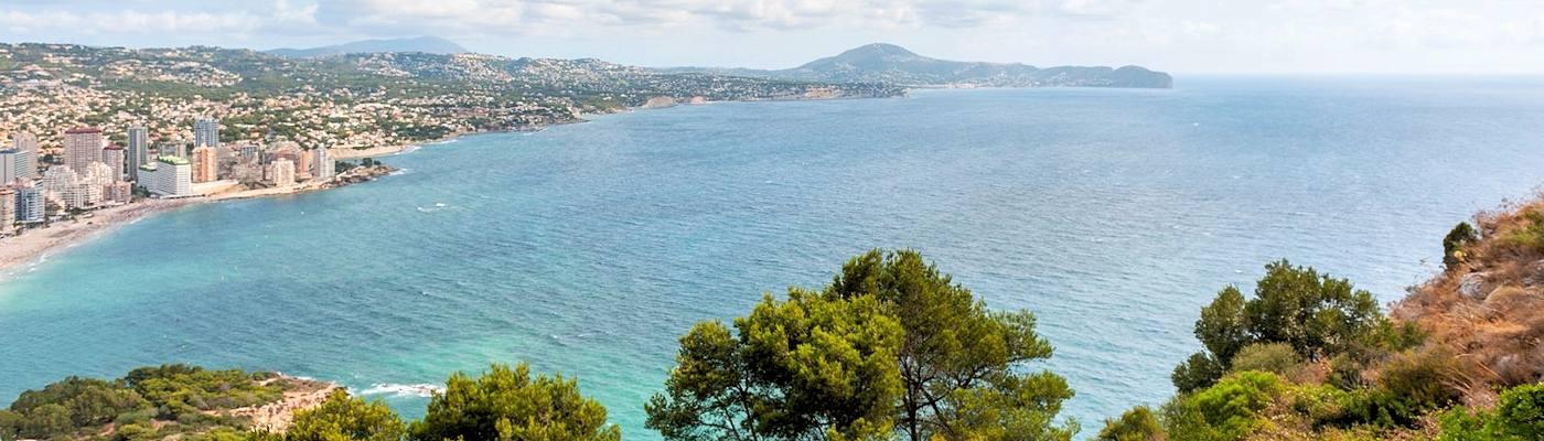 calpe bucht spanien ferienwohnungen