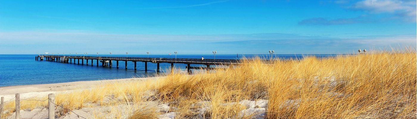 graal mueritz strand seebruecke urlaub