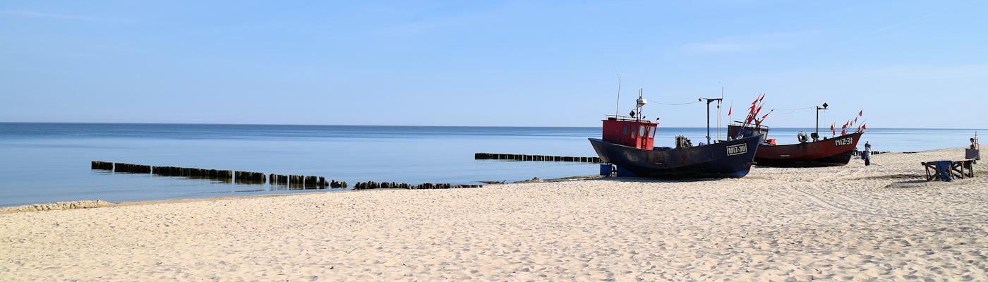 miedzyzdroje polen ostsee strand