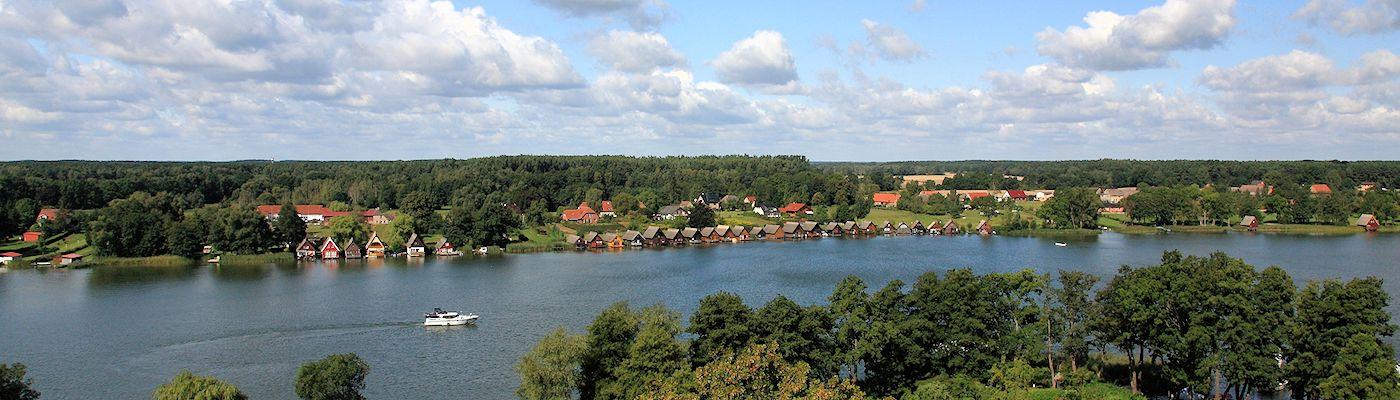 mirow mecklenburgische kleinseenplatte ferienwohnungen urlaub