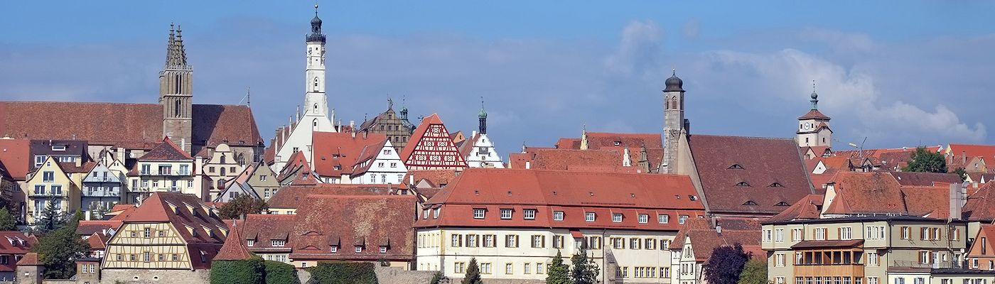rothenburg ob der tauber franken bayern ferienwohnungen