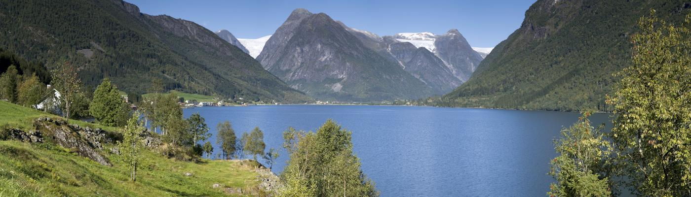 sogn und fjordane norwegen fjord