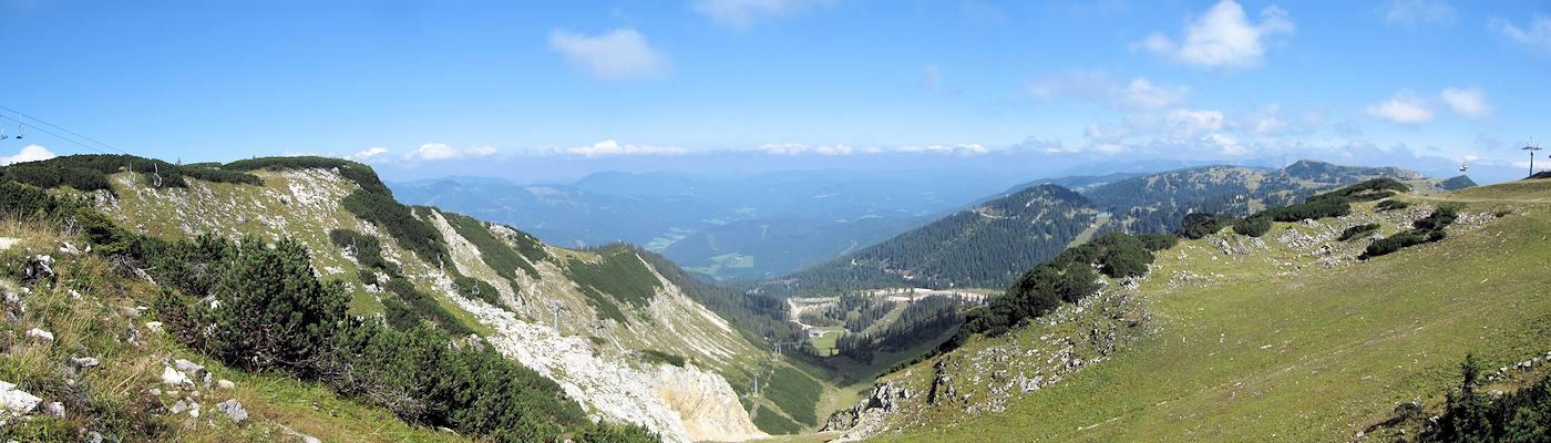steiermark alpen berge tal