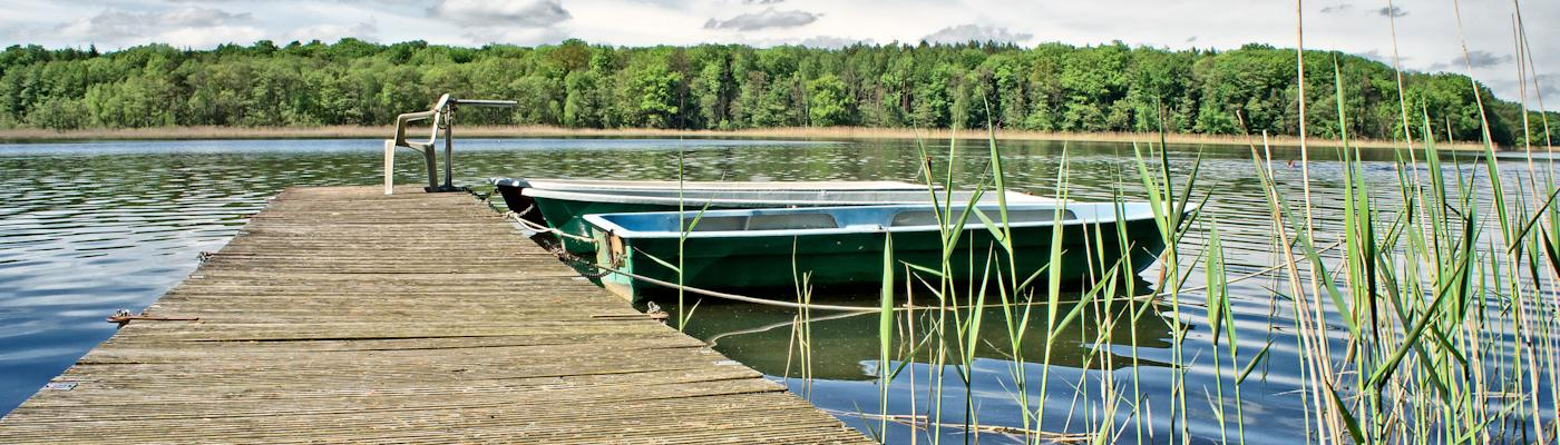 sternberger seenlandschaft see wald boot