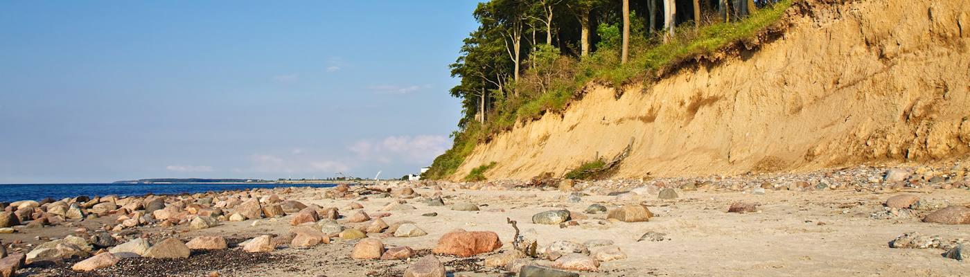 wittenbeck strand steilkueste ostsee
