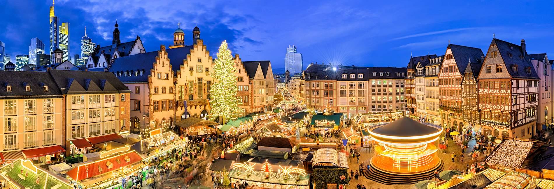 Frankfurter Weihnachtsmarkt.Ferienwohnung Ferienhaus Zum Frankfurter Weihnachtsmarkt Mieten