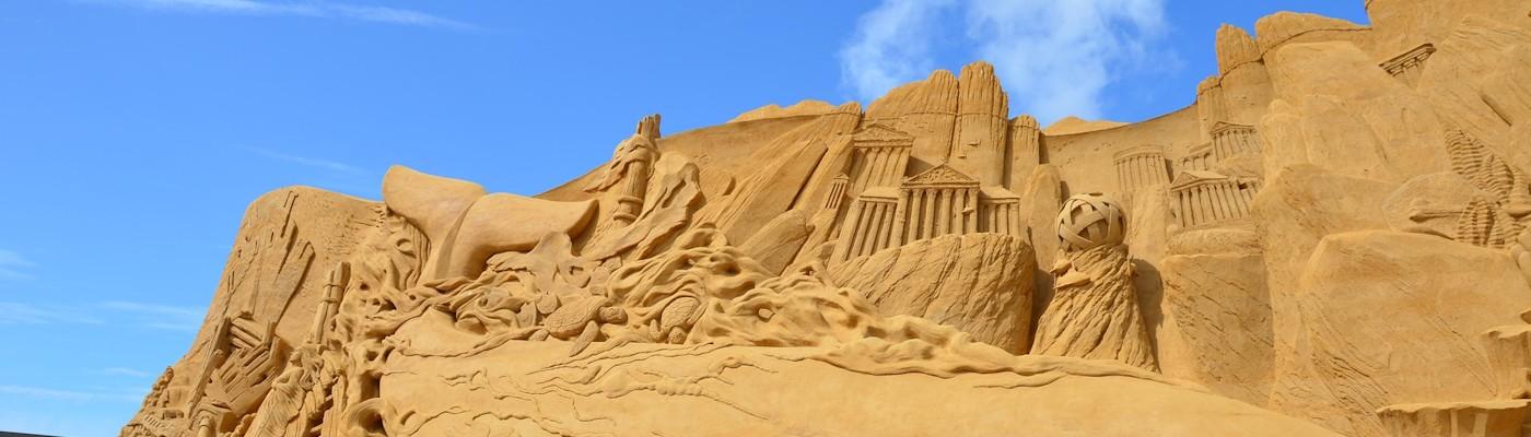 sandskulpturenfestival sondervig