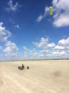 fanoe kitebuggy strand