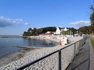 gluecksburg strand promenade