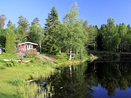 oerebro schweden ferienhaus see