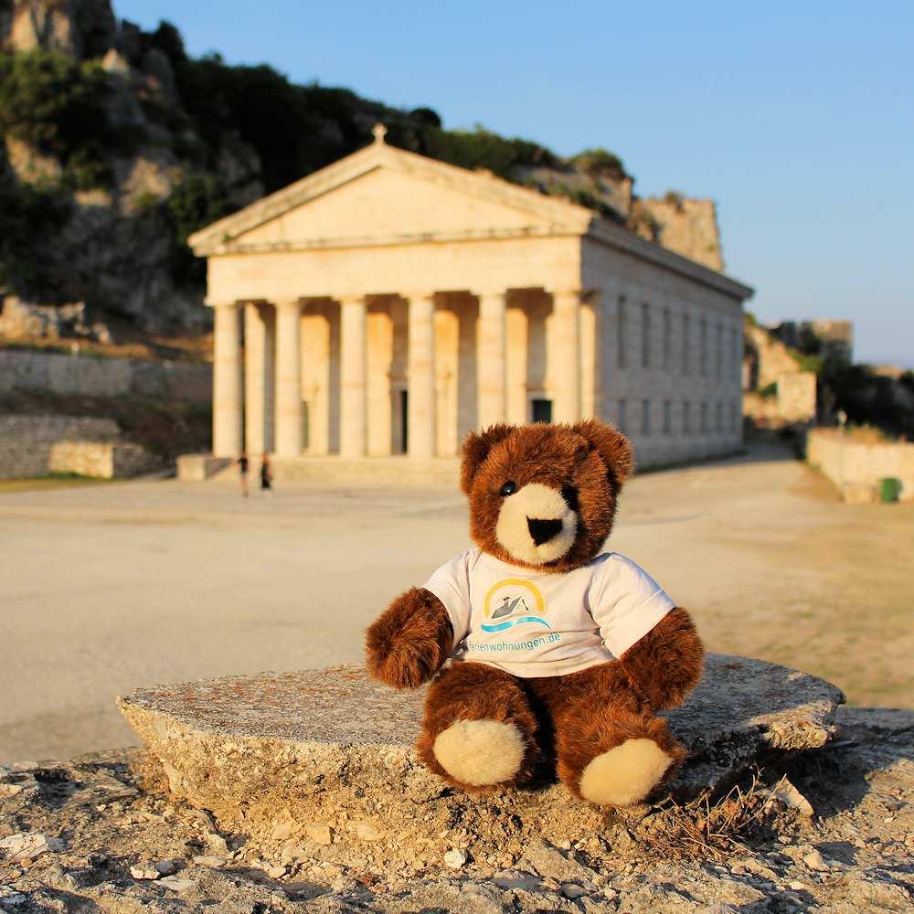 Backpacking mit dem Urlaubär auf dem Balkan