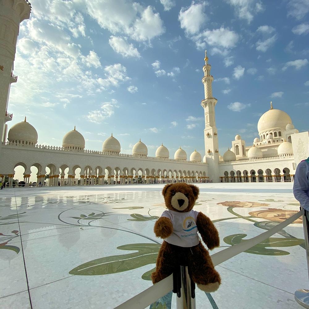 Mit dem Urlaubbär durch die Vereinigten Arabischen Emirate