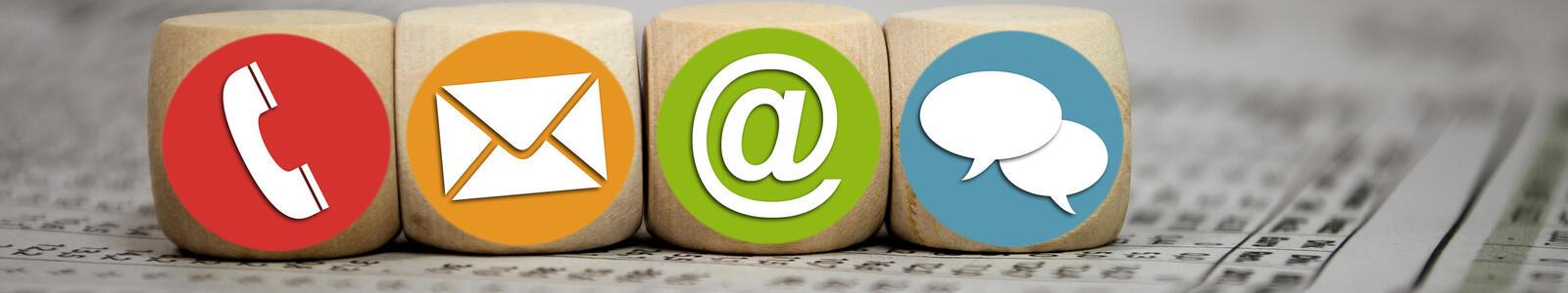 kontakt formular support mail